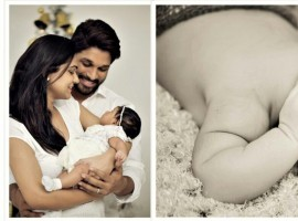 Tollywood actor Allu Arjun shares daughter Allu Arha photo by tweeting: