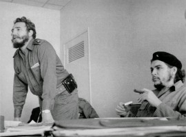 Prominent people who died in 2016: Cuban revolutionary and statesman Fidel Castro (left) in his heyday.