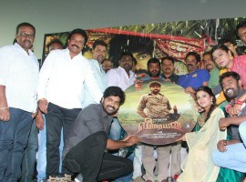 Tamil movie Veeraiyan music launch event held at Chennai. Celebs like Inigo Prabhakaran, Shaini, Aadukalam Naren, Music Director Arunagiri, Director Fareed, Cinematographer PV Murugesha, Editor Raja Mohammad, Seenu Ramasamy, Preethisha, SR Prabhakaran, A. Sarkunam, KS Thangasamy, Jaguar Thangam, SPB Saran, MS Prabhu, Kayal Vincent and others graced the event.