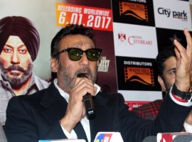 Actor Jackie Shroff during a press conference to promote his upcoming film