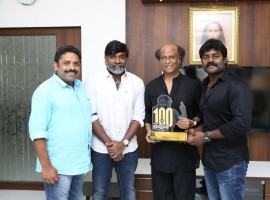 Dharma Durai movie team meets Superstar Rajinikanth.