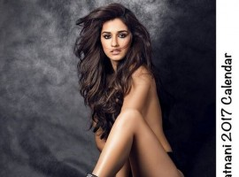Bollywood actress Disha Patani goes topless for Dabboo Ratnani Calendar 2017.