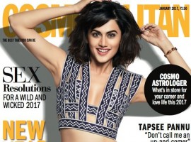 Actress Taapsee Pannu is certainly on a high. The actress who was certainly one of the finest actors on screen last year has propelled into a new league altogether. Gracing the cover of two magazines this month, Taapsee looks her prettiest, best on the cover of Cosmopolitan and also on a special supplement for VERVE. With nominations  pouring in for her performance in Pink for current ongoing award season, the actress is soon to be busy with as many as six film releases this year.