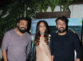 The special screening of Haraamkhor was hosted by Anurag Kashyap at a suburban preview theatre in Mumbai.