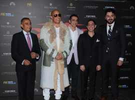 XXX: Return of Xander Cage special screening held in Mumbai on January 12, 2017. Celebs like Vin Diesel, Shahid Kapoor, Ranveer Singh, Urvashi Rautela, Diana Penty, Richa Chadha, Kriti Sanon, Irrfan Khan, Neil Nitin Mukesh, Jackky Bhagnani, Neetu Chandra, Karan Johar and others spotted at special screening.