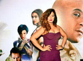 Bollywood actress Neetu Chandra spotted at XXX: Return of Xander Cage special screening.