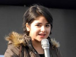 Actress Zaira Wasim Khan, who has played the role of wrestler Geeta Phogat in the film