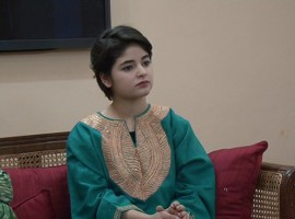 Dangal actress Zaira Wasim Khan meets J&K Chief Minister Mehbooba Mufti.