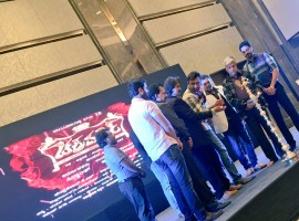 Kannada movie Chakravarthy audio launch event held in Bangalore. Celebs like Darshan, Aditya and others graced the event.