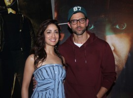 Bollywood actor Hrithik Roshan and actress Yami Gautam promote Kaabil.