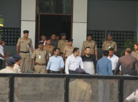 Bollywood actor Salman Khan was today acquitted of all charges in the Arms Act case against him in the alleged poaching of two black bucks.