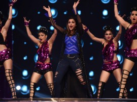 Parineeti Chopra spotted during the Umang Mumbai Police Show 2017 in Mumbai, India on January 22,2017.
