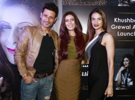 Meet Brothers and Khushboo Grewal at the app launch of Khushboo Grewal.