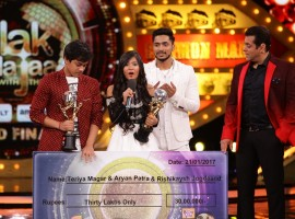 Teriya was named as the winner of the dancing reality show on Saturday night. She took home a trophy and Rs 30 lakh as prize money after fighting it out with Salman Yusuff Khan and Shantanu Maheshwari. Salman became the first runner-up and Shantanu second.