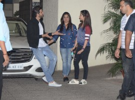 Celebs like Hrithik Roshan, Sussanne Khan, Yami Gautam, Resul Pookutty, Shadia Pookutty, Ravi Behl, Salim Merchant, Sulaiman Merchant, Yami Gautam and others snapped post party at Rakesh Roshan's house.