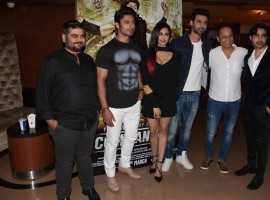 Bollywood movie Commando 2 trailer launch event held in Mumbai on January 23, 2017. Celebs like Bollywood filmmaker Deven Bhojani, actors Vidyut Jammwal, Adah Sharma, Freddy Daruwala, filmmaker Vipul Shah and actor Rocky spotted during the event.