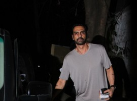 Bollywood actor Arjun Rampal spotted at Bandra.