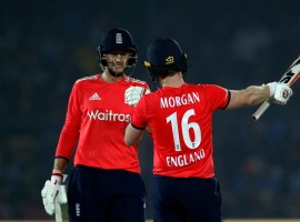England defeated India by seven wickets in the first Twenty-20 International (T20I) cricket match at the Green Park stadium here on Thursday. With this win, England now lead the three match T20I series 1-0.