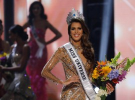 Miss France took her first walk as Miss Universe 2016 as she was announced the winner by host Steve Harvey at Mall of Asia Arena in Philippines. India's Roshmitha Harimurthy couldn't even make it to the top 15. Miss Universe 2015 Pia Wurtzbach crowned the 23-year-old Iris Mittenaere who was born in northern French town of Lille.