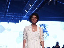Kiran Rao at Lakme Fashion Week 2017 Day 1.