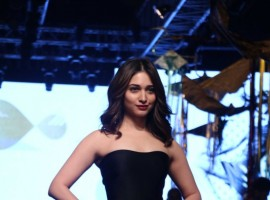 Bollywood celebs like Sonakshi Sinha, Neha Sharma, Tamannah Bhatia, Kajal Aggarwal spotted at Lakme Fashion Week 2017.