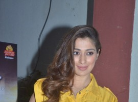 South Indian actress Raai Laxmi at Motta Siva Ketta Siva press meet.