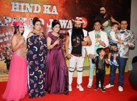 Bollywood movie MSG Lionheart special screening held in Mumbai on Feb 08, 2017. Gurmeet Ram Rahim and others graced the event.