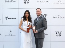 Freida Pinto celebrated the inaugural International Scotch Day in India on Friday with brand Diageo's #LoveScotch initiative. The actress says that her father and her sister enjoy Scotch. Freida said she believes in drinking responsibly and this is the message she wants to give to the world. International Scotch Day invited people from all parts of the world to raise a glass of Scotch to celebrate the togetherness.