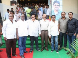 South Indian actor Akkineni Nagarjuna launches Swapna Theatre.