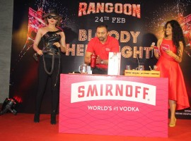 Bollywood actress Kangana Ranaut launches 'Bloody hell' song inspires cocktail.