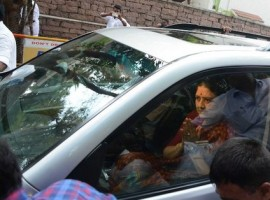 AIADMK General Secretary V.K. Sasikala, held guilty for corruption, arrived at the Central Jail here on Wednesday to surrender, an official.