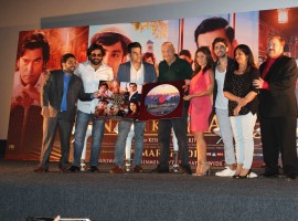 Pictures of Jeena Isi Ka Naam Hai music launch.