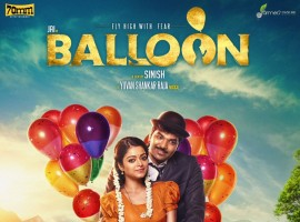 Balloon is an upcoming Tamil horror film written and directed by Sinish and produced by Shan Sutharsan. Starring Jai and Anjali in the leading roles. Music composed by Yuvan Shankar Raja.