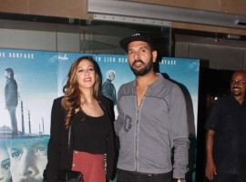 Celebs like Divya Dutta, Aparna Singh, Naseeruddin Shah, Sridevi, Tisca Chopra, singer Shaan, singer Alka Yagnik, Yuvraj Singh, Parthiv Patel and others spotted during the special screening of film Irada in Mumbai on February 16, 2017.