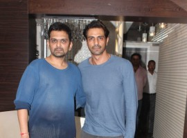 Arjun Rampal who will be playing a visually impaired character in the much-awaited sequel to the 2002 hit film Aankhen, said he was not competing with anyone but the challenge is to raise the standard.