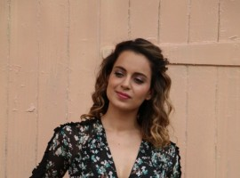 Bollywood actress Kangana Ranaut spotted at Mehboob Studio.