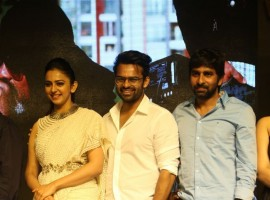 Telugu movie Winner Pre-Release event held at Hyderabad. Celebs like Sai Dharam Tej, Rakul Preet Singh, Thakur Anoop Singh, Anasuya Bharadwaj, Nallamalupu Bujji, Gopichand Malineni, S. Thaman, Tagore Madhu, Sankalp Reddy, Nagendra Babu, Vamsy, Raghu Babu, BVSN Prasad, Prasad V. Potluri and others graced the event.