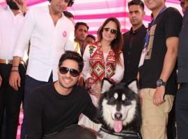 Celebs like Priya Dutt, Sidharth Malhotra, Smita Thackeray, Arbaaz Khan, Ramesh Taurani, Deepshikha Nagpal, Rajesh Khattar, Vandana Sajnani, Shaan, Poonam Dhillon, Aftab Shivdasani, Jimmy Shergill, Pooja spotted at Glam Dogs event in Mumbai.