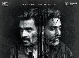Vikram Vedha is an upcoming Tamil crime thriller film directed by Pushkar-Gayathri and produced by S. Sashikanth. The film features Vijay Sethupathi, Madhavan and Varalaxmi Sarathkumar in the lead role, while Kathir, John Vijay, Shraddha Srinath and Prem are in the supporting characters.