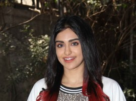 Bollywood actress Adah Sharma spotted at Andheri for Commando 2 promotion on February 21, 2017.