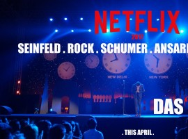 Netflix just released the first official poster of Vir Das' special. The poster speaks volumes as it mentions the last names of Jerry Seinfeld, Chris Rock, Amy Schumer, Aziz Ansari and David Chappelle - and ends with