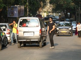 Bollywood actor Harshvardhan Kapoor spotted at The Korner House bandra.