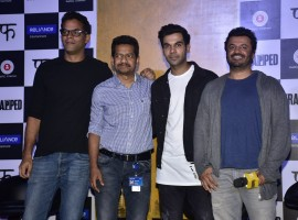 The journey of Rajkummar Rao and Vikramaditya Motwane's 'Trapped' begins with a press conference where the movie's trailer was launched.