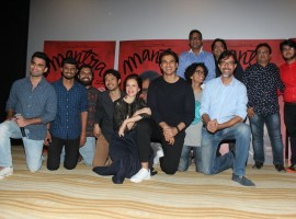 Trailer launch of Mantra with Kalki Koechlin, Rajat Kapoor.