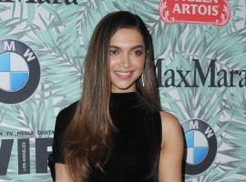 Bollywood actress Deepika Padukone at 10th Annual Pre-Oscars cocktail party.