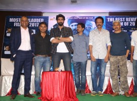 Telugu movie Ghazi success meet event held at Hyderabad. Actor Rana Daggubati and others graced the event.