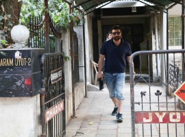 Bollywood actor Sunny Deol spotted at Bandra.
