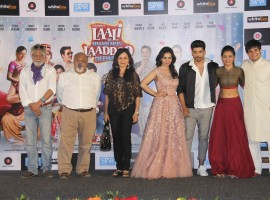Bollywood movie Laali Ki Shaadi Mein Laddoo Deewana Trailer launched in Mumbai on February 27, 2017. Celebs like Akshara Haasan, Gurmeet Choudhary, Kavitta Verma, Vivaan Shah and others graced the event.
