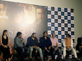Bollywood movie Sarkar 3 trailer launch held today. Celebs like Amitabh Bachchan, Ram Gopal Varma, Yami Gautam and others graced the event.
