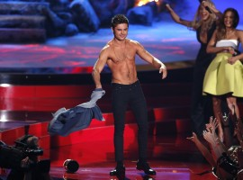 Best Shirtless Performance Nominee: Zac Efron from Neighbors